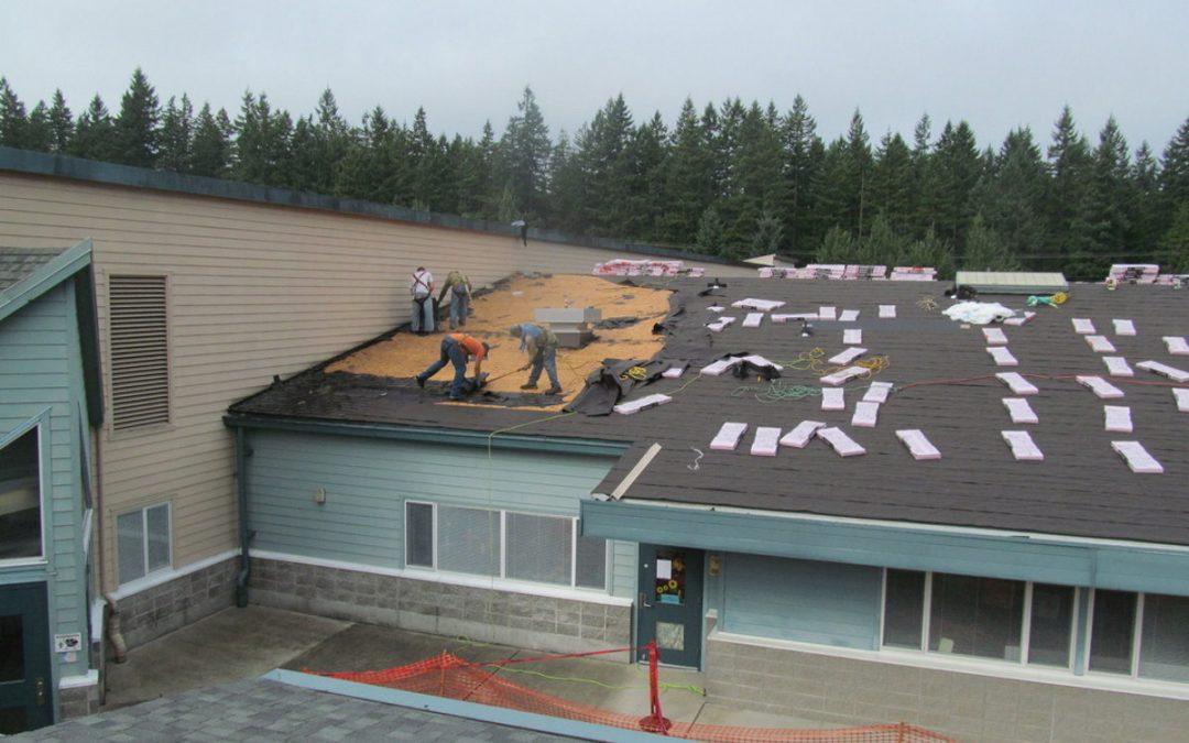 Elementary School Roof Design